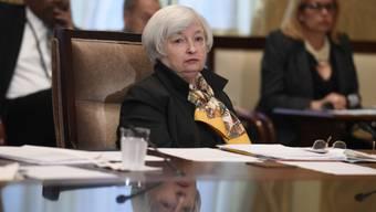 Die Chefin der US-Notenbank, Janet Yellen (Archivbild)
