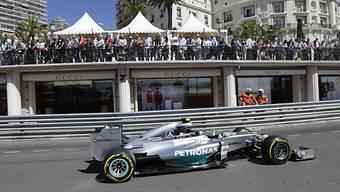 Pole-Position im Fürstentum für Vorjahressieger Nico Rosberg.
