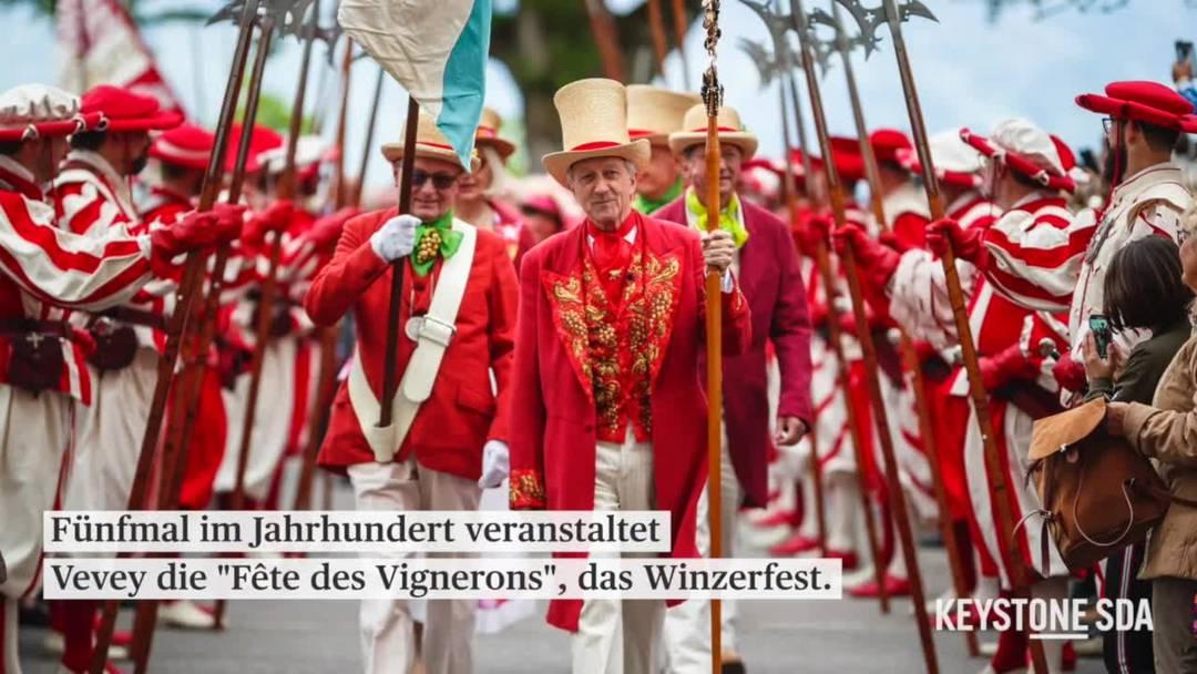 """Die """"Fête des Vignerons"""" - ein jahrhundertealtes Winzerfest"""