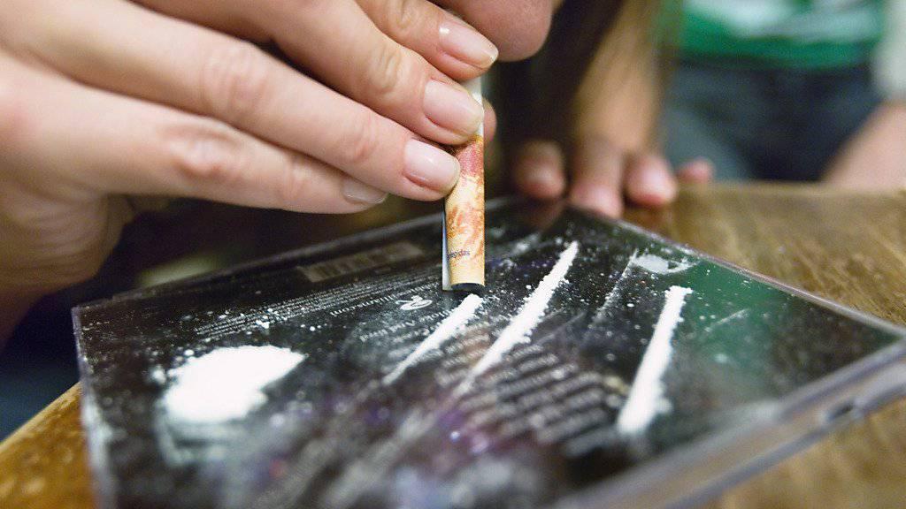 Der Konsum von Kokain hat in Europa gemäss dem EU-Drogenbericht zugenommen. (Archiv)