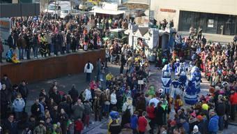 Für den Fasnachtsumzug Muri am Sonntag werden rund 5500 Zuschauerinnen und Zuschauer erwartet. Archiv/Eddy Schambron