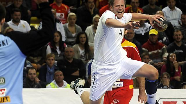 Marco Kurth war gegen Katar mit acht Treffern Topskorer