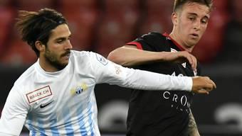 Der langjährige FCZ-Profi Oliver Buff (links) wechselt zu Real Saragossa