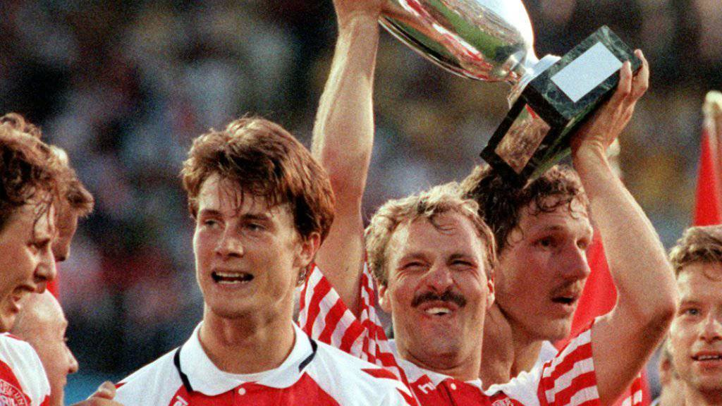 Dänemark sorgte mit 2:0-Finalsieg gegen Deutschland an der EM 1992 für eine Sensation