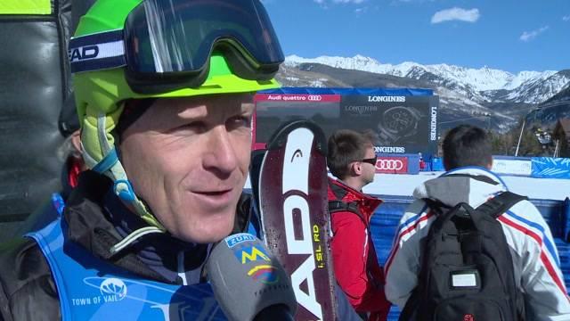 SkiExtra - Didier Cuche holt Gold beim Legendenrennen