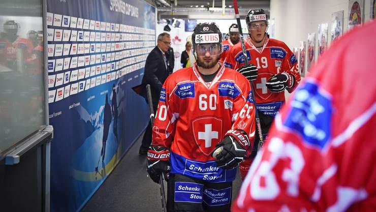 Drängt sich für ein Olympia-Aufgebot auf: SCB-Stürmer Tristan Scherwey.