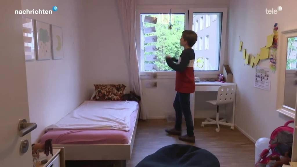 Tslil erzählt von seiner Zeit im Kinderheim Titlisblick