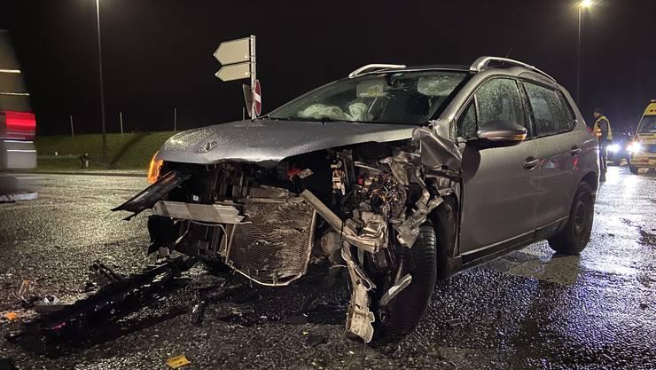 Der Unfall ereignete sich am Samstag kurz vor 18 Uhr in Kölliken auf der Suhrentalstrasse.