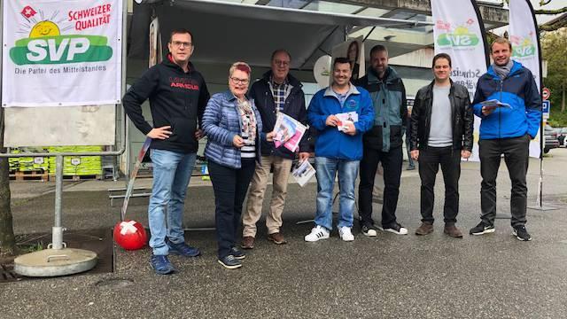 v.l. Matthias Borner, Rita Christ, Helmut Nadig, Michel Guldimann, Christian Schneider, Christian Werner, Tobias Fischer