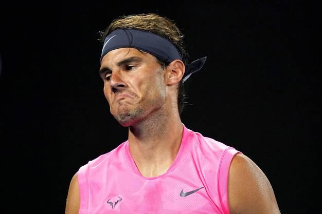 Rafael Nadal droht der Verlust der Weltranglistenspitze.