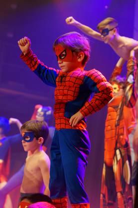 Super- und Spiderman retteten die Welt vor dem Untergang.