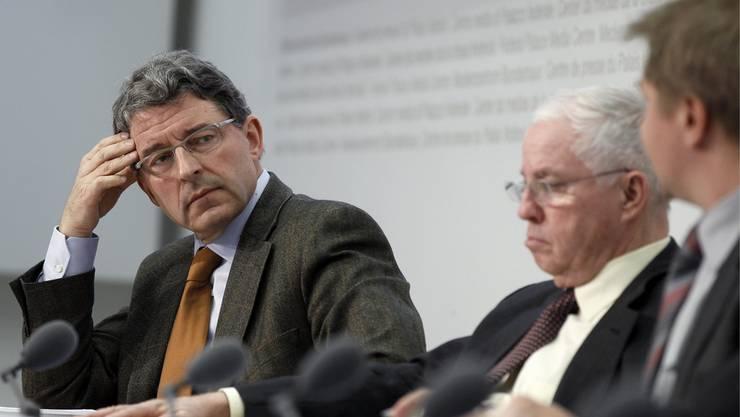 Der Blocher-Zögling Heinz Brand präsidiert die Kommission, die Christoph Blochers Immunitätsanspruch untersucht.