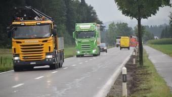 Für eine Vielzahl der Lastwagenfahrten werden die LSVA-Beiträge in Zukunft höher ausfallen. (Symbolbild)