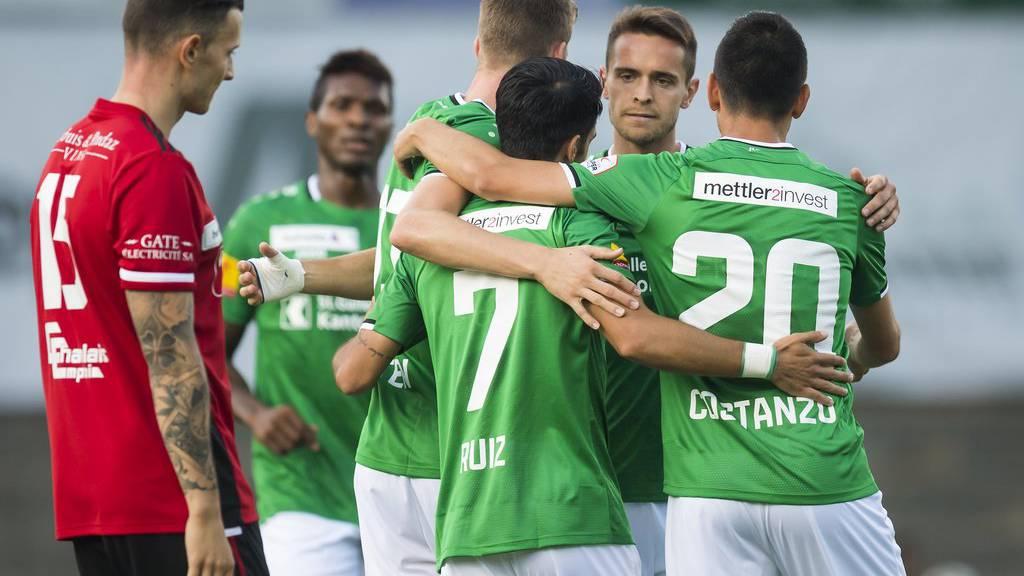 FC St.Gallen schlägt Monthey 4:1