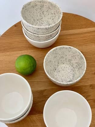Giesskeramik von Meret Baker Ceramics, eine Schale für 15 Franken, bei etsy.com Bilder: zvg