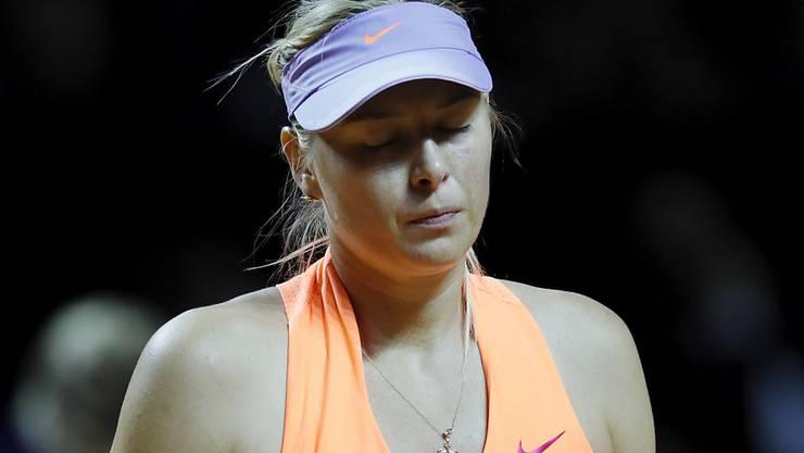 Maria Scharapowa verliert in Stuttgart in den Halbfinals
