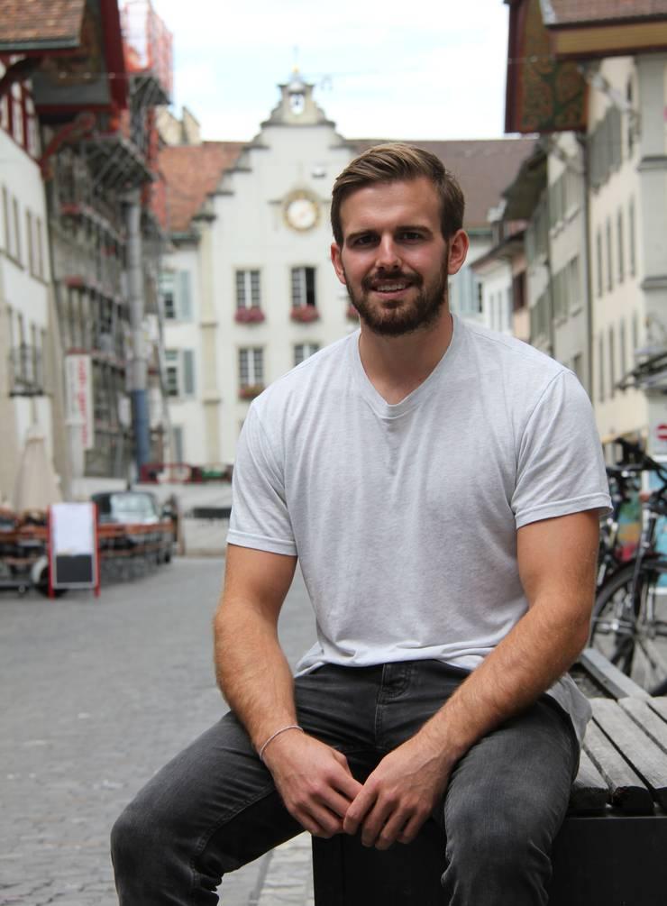 Sergio Muggli: «Ich könnte mir gut vorstellen einmal nach Aarau zu ziehen. Das ist ein schönes Städtchen.»