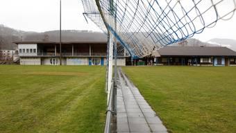 Das Zuhause des FC Klus Balsthal in der Sportanlage im Moos. Hier möchte auch der SC Regio Balsthal zu Hause sein. Hanspeter Bärtschi