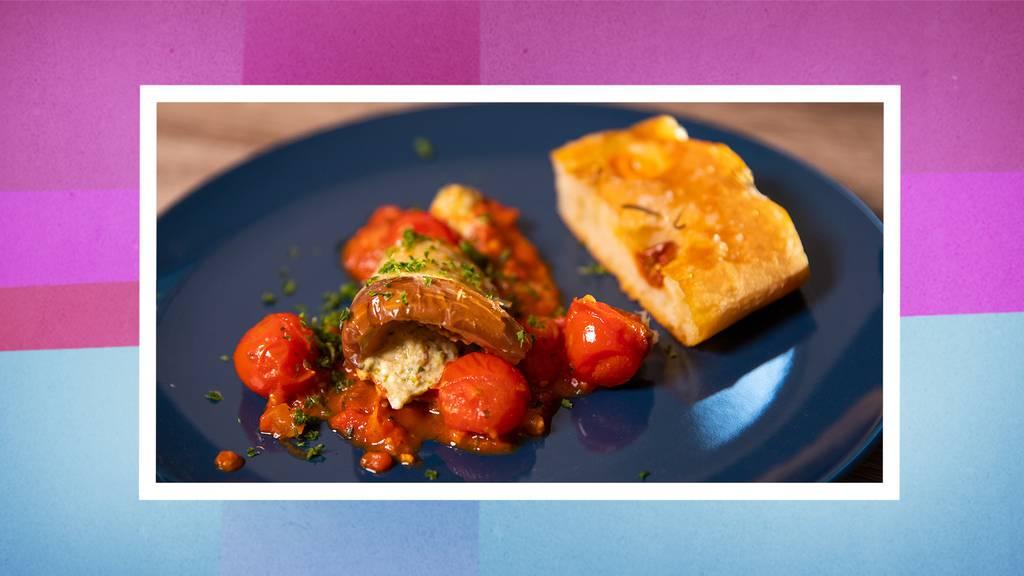 Auberginen-Cannelloni