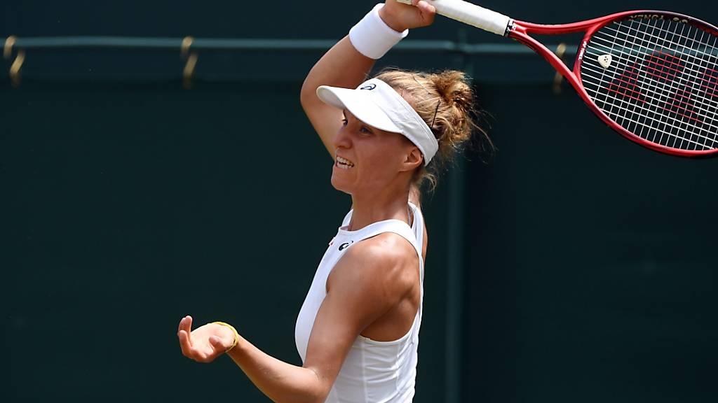 Viktorija Golubic im Viertelfinal