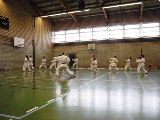 Die Karate-Show mit Anto Grgic kam gut an
