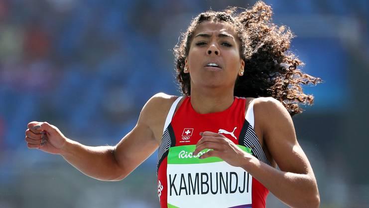 Die schnellste Schweizerin: Mujinga Kambundji.