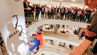 Mammut präsentiert im Jelmoli Zürich die Eiger Extreme Kollektion 2017