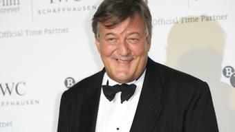 Dabei sieht er so nett aus: Stephen Fry (Archiv)