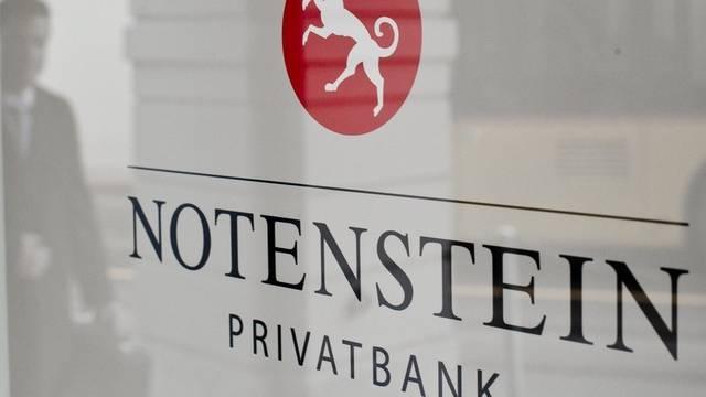 Das Logo der Notenstein (Archiv)