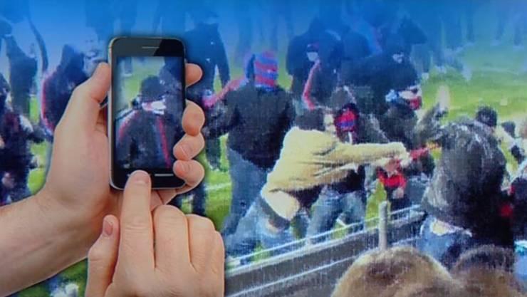 Der FC Aarau ruft seine Fans dazu auf, Krawallbrüder zu filmen.