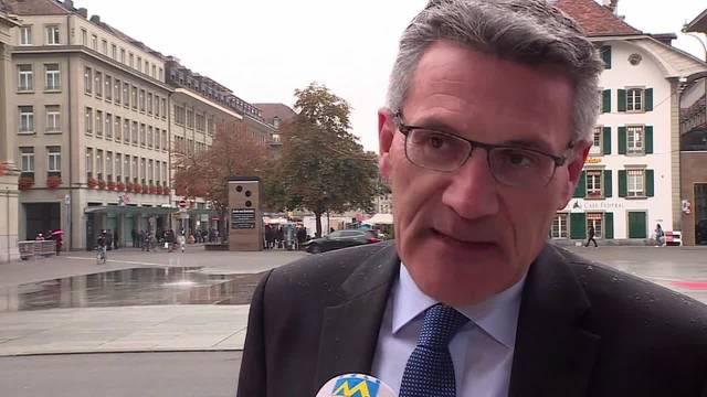Schwyzer SVP-Nationalrat Pirmin Schwander kritisiert die KESB