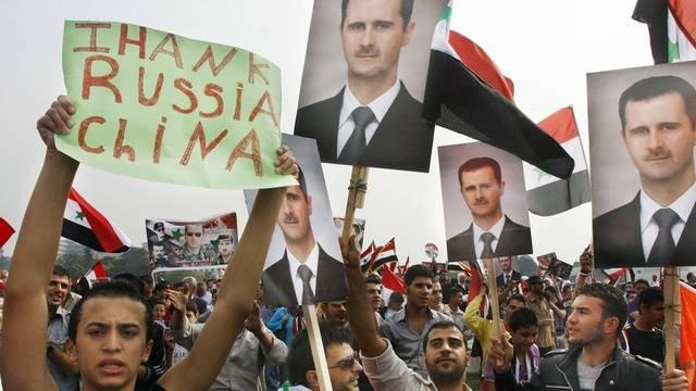 China und Russland erhöhen den Druck auf die Konfliktparteien in Syrien (Archiv)