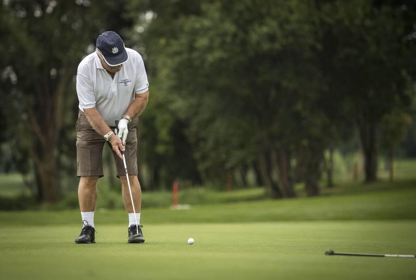 Das ganze Wochenende wird der Golfplatz Erlen gefeiert. (Archivbild: Reto Martin/St.Galler Tagblatt)