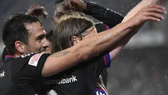 Der FC Basel ist zum siebten Mal in Serie Schweizermeister.