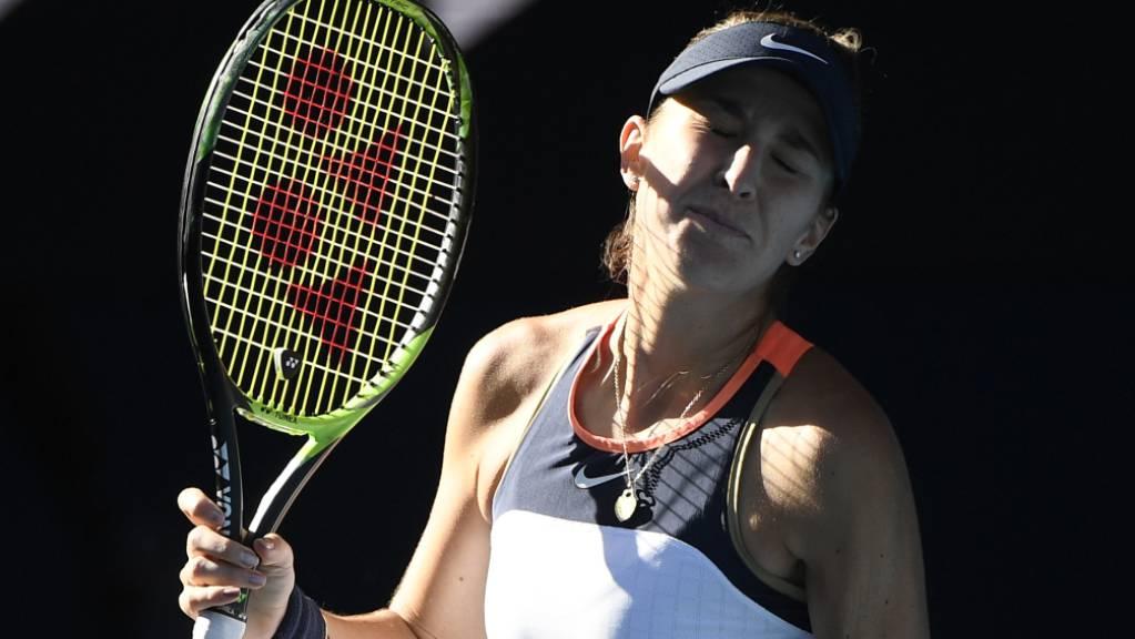 Belinda Bencic war gegen Madison Keys der Jet-Lag nach einer Reise über acht Zeitzonen gut anzumerken.
