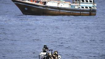 Teilerfolg im Kampf gegen somalische Piraten (Archivbild)