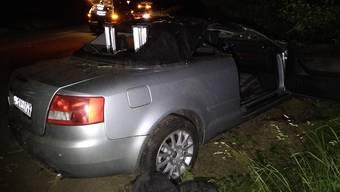 Unfall zwischen Bremgarten und Unterlunkhofen