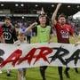 Der FC Aarau steht in der Barrage gegen Neuchâtel Xamax.