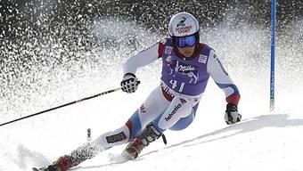 Gino Caviezel erreichte im EC-Riesenslalom Rang 2.