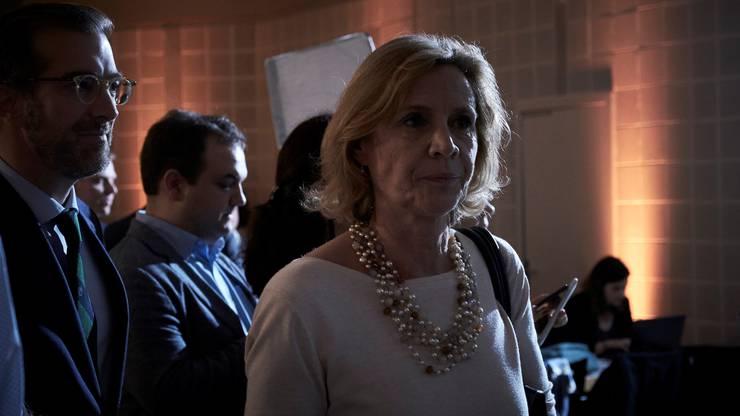 LDP-Präsidentin Patricia von Falkenstein: Enttäuschung bei Ständeratswahlen, aber Parteierfolg bei Nationalratswahlen.