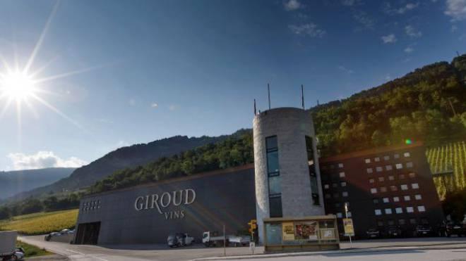 Gebäude von Giroud Vins in Sion VS. Foto: Keystone