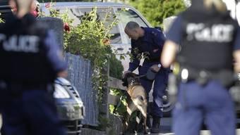 Tagelang suchte die Polizei nach dem Rentner Kneubühl (Archiv)