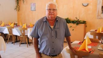 76 Jahre und ein bisschen müde: Stefano Picone prägte die Klingnauer Restaurantszene während Jahrzehnten. Jetzt ist Schluss.