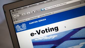 Durch das E-Voting wurde eine höhere Stimmbeteiligung erwartet.