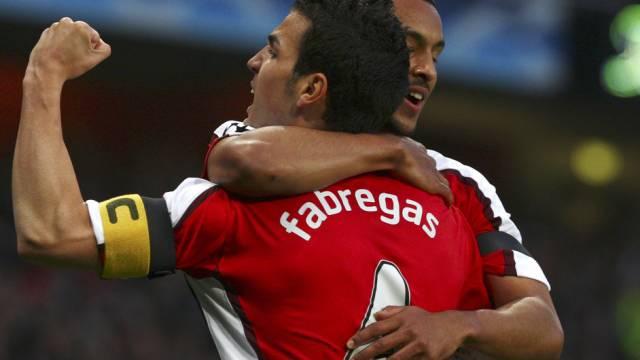 Doppeltorschütze für Arsenal: Cesc Fabregas