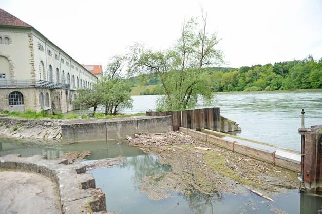 Angestellte des Wasserkraftwerkes Döttingen-Beznau hatten den Leichnam dort gefunden.