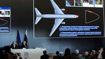 Almaz-Antei Luftabwehr-Vereinigung, Produzent der BUK Flugkörper, präsentiert seine Sicht des MH17-Absturzes.