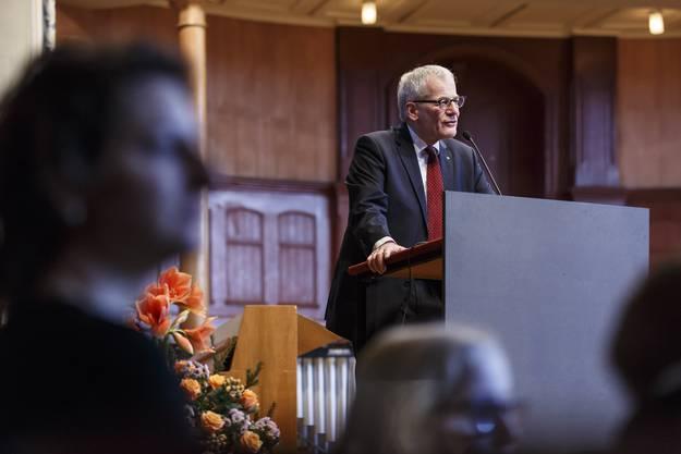 Neujahrsansprache von Stadtpräsident Kurt Fluri.
