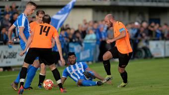Rund 800 Zuschauer waren auf dem Moos beim Aufstiegsspiel zwischen dem FC Klus/Balsthal und dem FC Deitingen dabei.