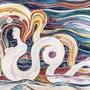«Die Welle» von 1902, ein Hauptwerk des Schweizer Symbolisten Albert Trachsel.